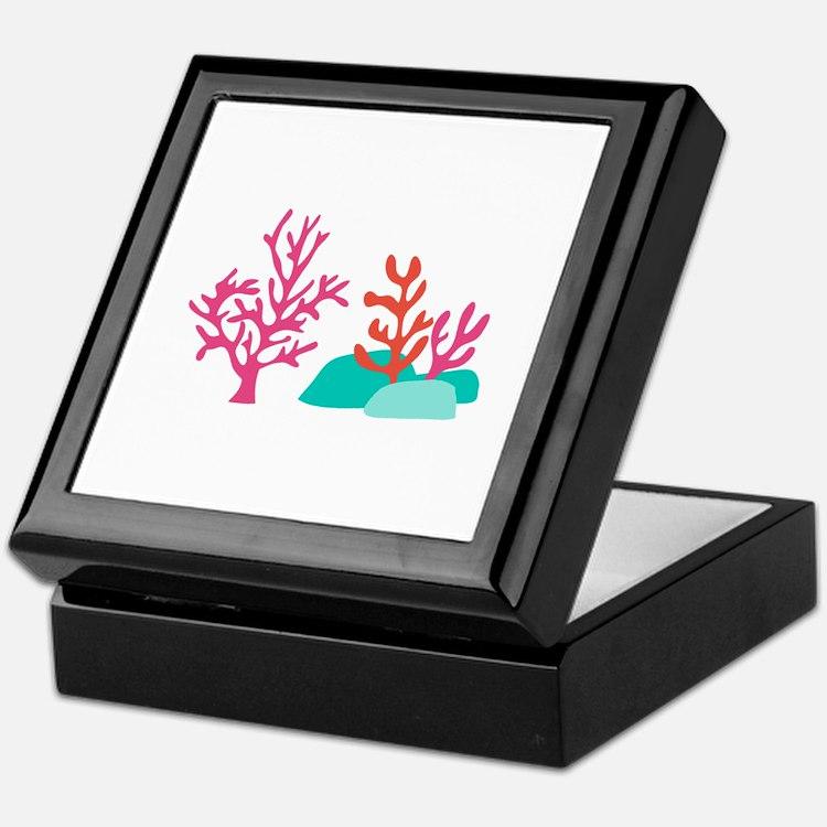 Sea Coral Keepsake Box