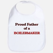 Proud Father of a Boilermaker Bib