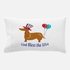God Bless USA Pillow Case