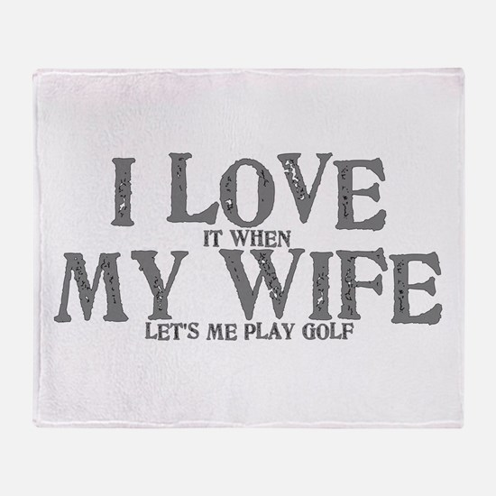 I love it when my wife let's me play Throw Blanket