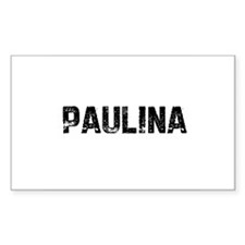 Paulina Rectangle Decal
