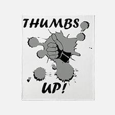 Cute Thumbs up Throw Blanket
