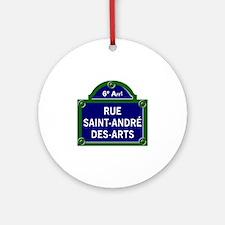 Rue Saint-André des Arts, Paris - France Ornament