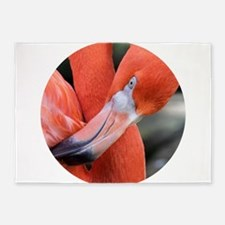 American Flamingo 5'x7'Area Rug
