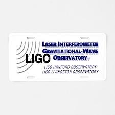 LIGO! Aluminum License Plate