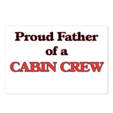 Proud Father of a Cabin C Postcards (Package of 8)