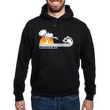 Santa cruz california Dark Hoodies