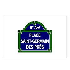 Place Saint-Germain des Prés, Paris - France Postc
