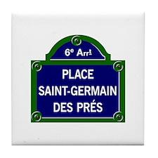 Place Saint-Germain des Prés, Paris - France Tile