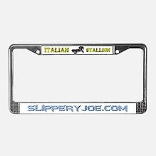 Unique Italian stallion License Plate Frame