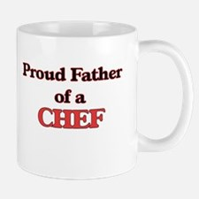 Proud Father of a Chef Mugs