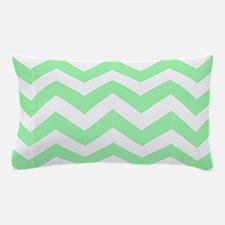 Mint Green Zigzags Pillow Case