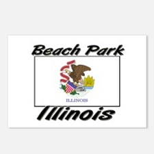 Beach Park Illinois Postcards (Package of 8)