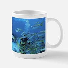 Underwater fish Mugs