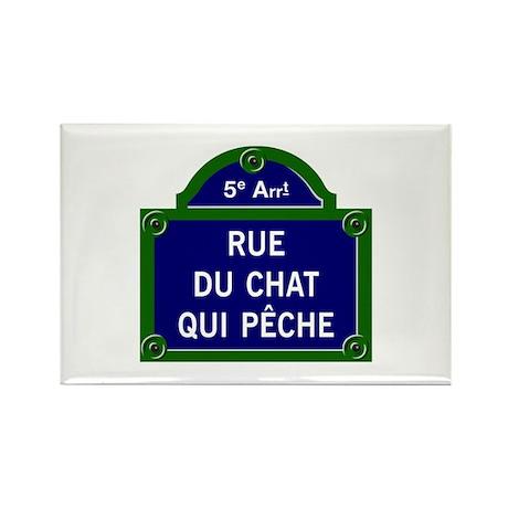 Rue du Chat qui Pêche, Paris - France Rectangle Ma
