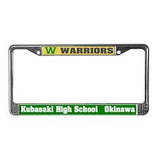 KHS Warriors License Plate Frame