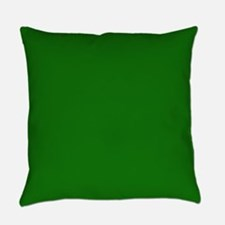 Solid Green Everyday Pillow