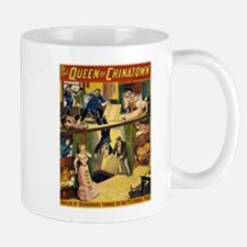 Vintage poster - The Queen of Chinatown Mugs
