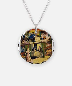Vintage poster - The Queen o Necklace