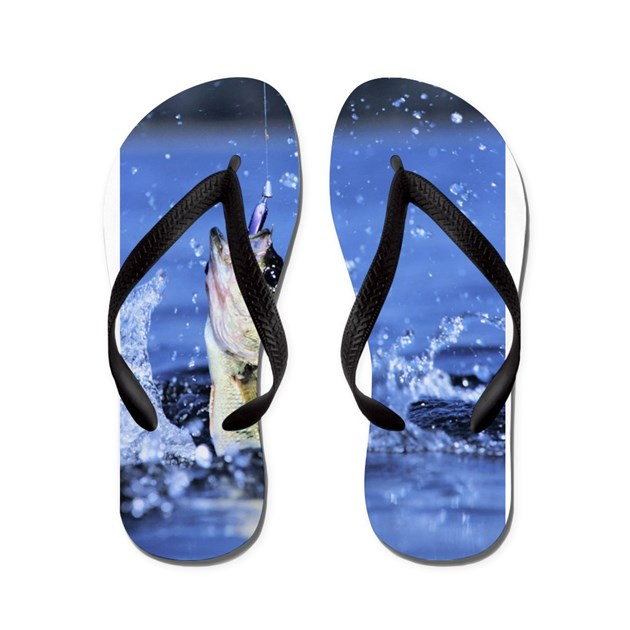 Fishing flip flops by admin cp75933496 for Fish flip flops
