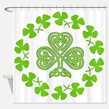 Cute Irish flag Shower Curtain