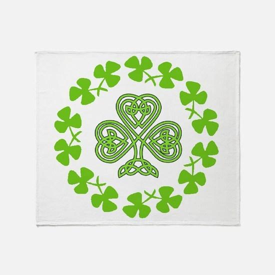 Cute Irish blessing Throw Blanket