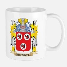Cresswell Coat of Arms - Family Crest Mugs