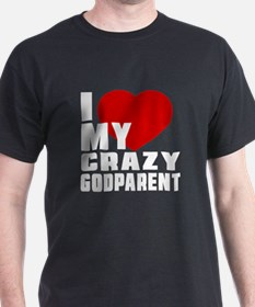 I Love Godparent T-Shirt