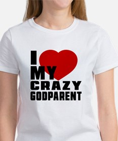 I Love Godparent Women's T-Shirt
