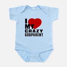 I Love Godparent Infant Bodysuit