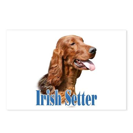 IrishSetterName Postcards (Package of 8)