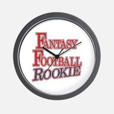 Fantasy Football Rookie Wall Clock