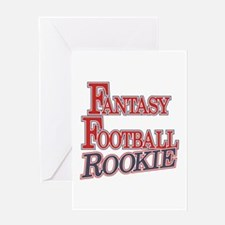 Fantasy Football Rookie Greeting Card