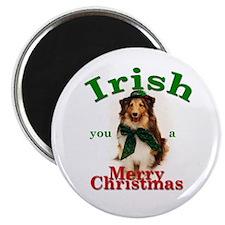 Irish Xmas Magnet (10 pack)