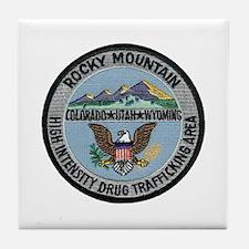 Rocky Mountain HIDTA Tile Coaster