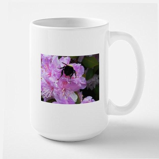 Honeybee on Azaleas Mugs
