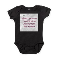 Funny Bookkeeping Baby Bodysuit