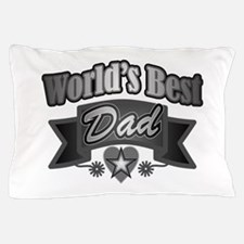 father's day world's best dad Pillow Case