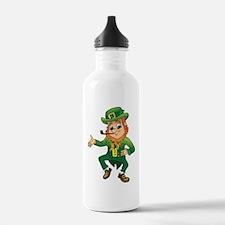 Cute St patricks day family Water Bottle