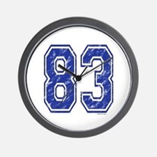 83 Jersey Year Wall Clock