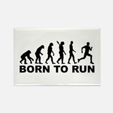 Evolution Born to run Rectangle Magnet