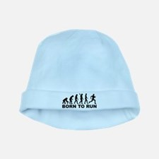Evolution Born to run baby hat