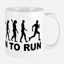 Evolution Born to run Mug