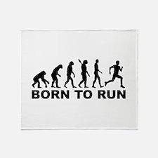 Evolution Born to run Throw Blanket