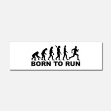 Evolution Born to run Car Magnet 10 x 3