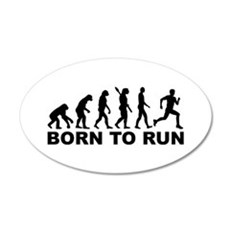 Evolution Born to run Wall Decal