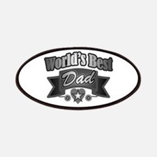 father's day world's best dad Patch
