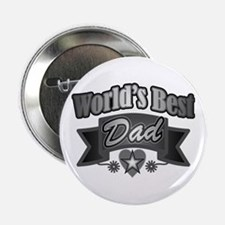 "father's day world's best dad 2.25"" Button"
