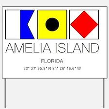 Cute Amelia Yard Sign