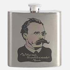 Nietzsche Music Flask